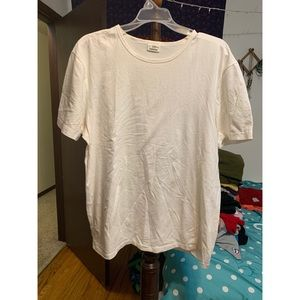Express basic white t-shirt